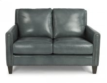 Reuben Leather or Fabric Loveseat