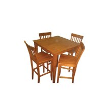 5-pc-Wood / Veneer Pub Dining