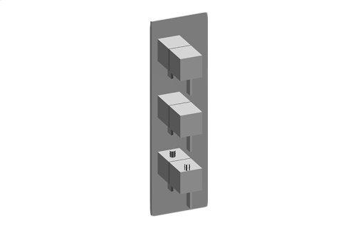 Qubic M-Series Valve Trim with Three Handles