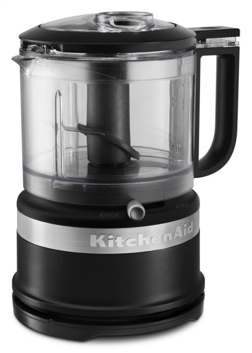 3.5 Cup Food Chopper - Black Matte
