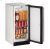 """Additional Outdoor Series 15"""" Outdoor Refrigerator With Stainless Solid Finish and Field Reversible Door Swing (115 Volts / 60 Hz)"""