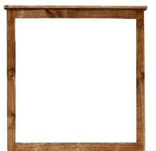 Reclaimed Look Mirror