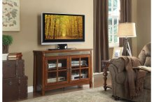 """47.5"""" TV Stand with Slate Decor"""