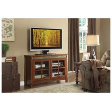 "47.5"" TV Stand with Slate Decor"