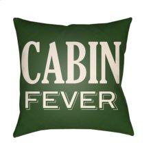 "Lodge Cabin LGCB-2035 18"" x 18"""