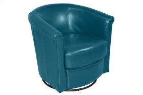 Marvel Swivel Accent Chair, Teal Blue, AC213