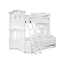 Bunk Bed Twin over Full - Summer White