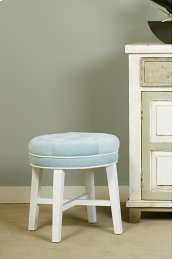 Sophia Vanity Stool With Spa Fabric