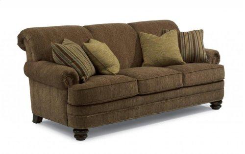 Bay Bridge Fabric Sofa with Nailhead Trim