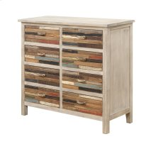 Emerald Home Pablo Pinewood Chest With 8 Multi-colored Drawers-ac313-08