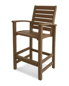 Teak Signature Bar Chair