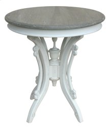 Victorian Tea Table- Wht/rw