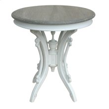 Victorian Tea Table- Wht/rw