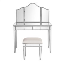 "Mirror 39"" x 1"" x 24"" ; Console Table 42"" x 18"" x 31"" & Console Table 42"" x 18"" x 31"""