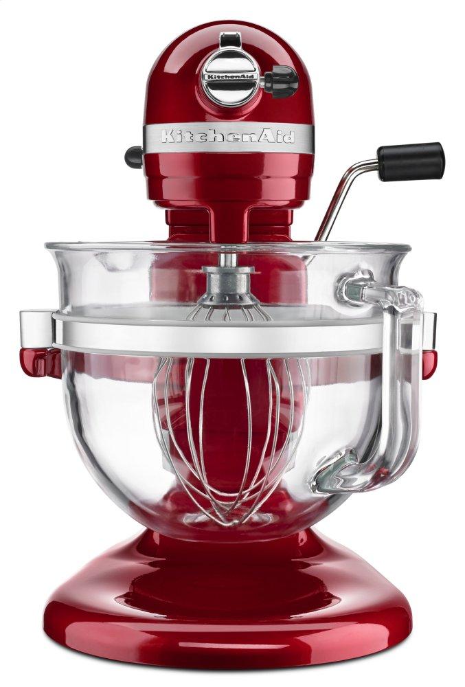 e9c9c255cd1 Kitchenaid Pro 600 Design Series 6 Quart Bowl-Lift Stand Mixer - Candy  Apple Red
