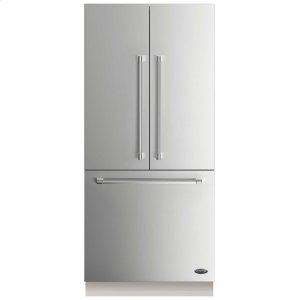 """DCSDCS Activesmart Refrigerator 36"""" Integrated French Door With Ice - 80"""" / 84"""" Tall"""