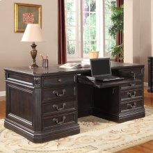 Palazzo Double Pedestal Executive Desk
