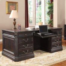 Palazzo Double Pedestal Executive Desk