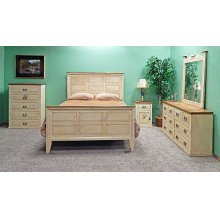 Heirloom Econo King Panel Bed Set