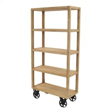 Cannes Book Shelf, Washed Brown***CLOSEOUT***