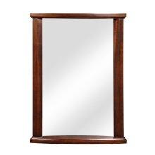 Olivia Collection Mahogany Wall Mirror