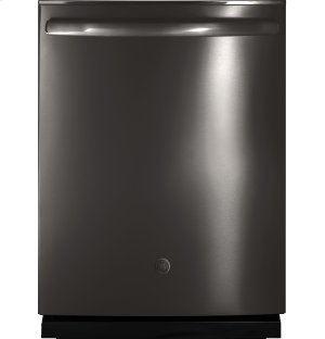 GDT655SBLTS in Black Stainless by GE Appliances in