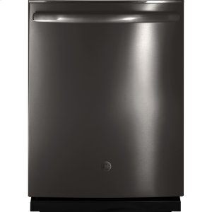 ®Stainless Steel Interior Dishwasher with Hidden Controls - BLACK STAINLESS