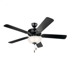 "Kichler Basics Select 52"" Fan Satin Black"