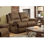 Sir Rawlinson Brown Reclining Loveseat