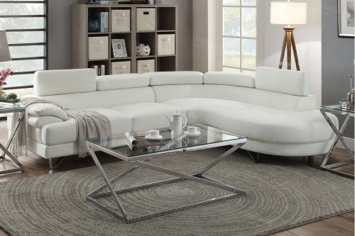 F6985 In By Poundex In Phoenix Az 2 Pcs Sectional Sofa