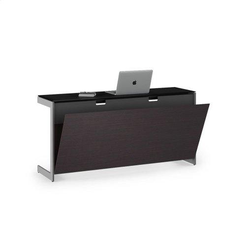 Desk Return Back Panel 6009 in Espresso
