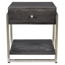 Jonas Accent Table in Dark Grey