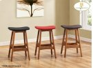 "24"" Saddle-seat Counter-height Stools Product Image"