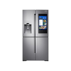 22 cu. ft. Capacity Counter Depth 4-Door Flex Refrigerator with Family Hub (2017) - FINGERPRINT RESISTANT STAINLESS STEEL