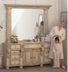 """Stafford Vanity with (2) 18"""" Drawers Product Image"""