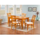 Montego Bay 36x48 Dining Set in Caramel Latte Product Image
