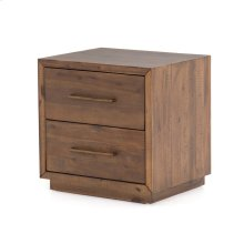 Heritage Brown Finish Suki Nightstand