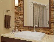 Hazel Semi-recessed Rectangular Bathroom Sink