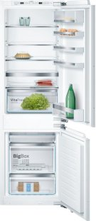 """800 Series 24"""" Built-In Bottom Freezer Refrigerator with Home Connect, B09IB81NSP, Custom Panel B09IB81NSP Product Image"""