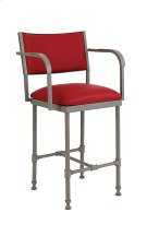 Bridgeport B239H26XA Non Swivel Back and Arms Bar Stool Product Image