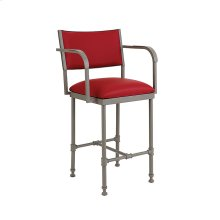 Bridgeport B239H26XA Non Swivel Back and Arms Bar Stool
