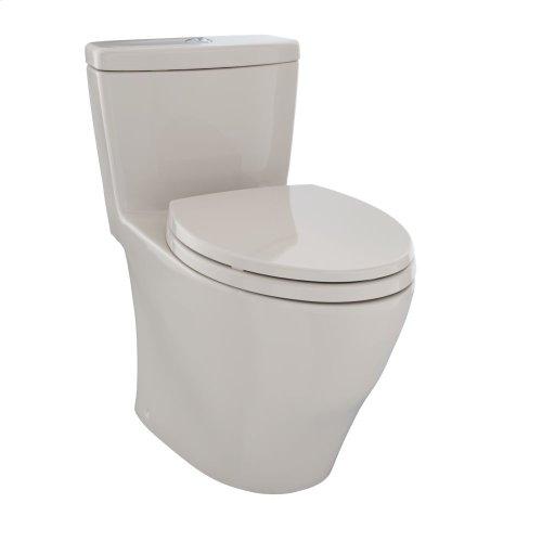 Aquia® One-Piece Toilet, 1.6 GPF & 0.9 GPF, Elongated Bowl - Bone