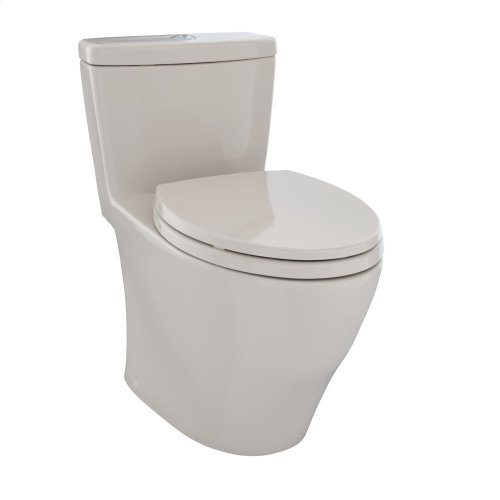 Aquia® One-Piece Toilet, 1.6 GPF & 0.9 GPF, Elongated Bowl - Bone