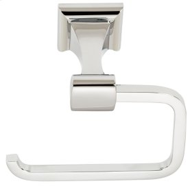 Manhattan Single Post Tissue Holder A7466 - Polished Nickel