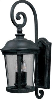 Dover Cast 3-Light Outdoor Wall Lantern