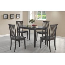 Oakdale Casual Cappuccino Five-piece Dinette Set