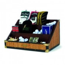TEE, GLOVE, AND BALL CADDY (Also available in Hampstead & Emerald Isle finishes) - Hampstead Large Caddy