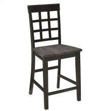 Counter Chair (2/Ctn) - Gray/Black Finish