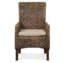 Mix-N-Match Woven Arm Chair Hazlenut finish