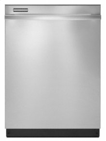 Monochromatic Stainless Steel Whirlpool Gold® Fully Integrated Console ENERGY STAR® Qualified Tall Tub Dishwasher